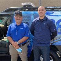 Orange County, CA security officer Ray Valdez