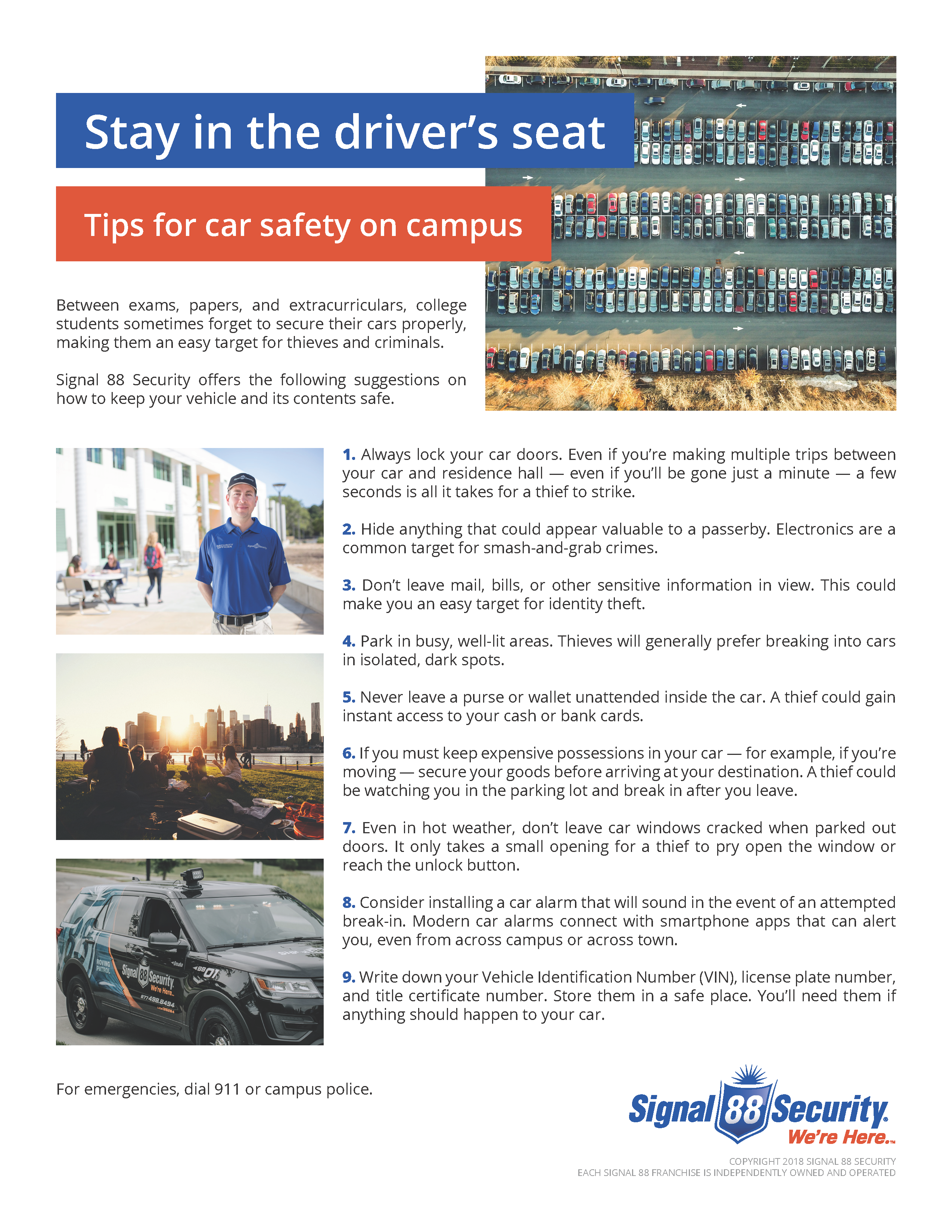 Tips _ Campus Car Safety